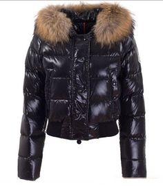 Buy Black Moncler Alpin Down Jacket for Women  $199.99