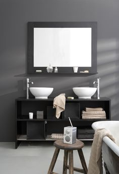 Badkamer on pinterest duravit art deco bathroom and black trim - Deco toilet zwart ...