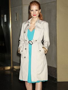 IN THE TRENCH photo | Jessica Chastain