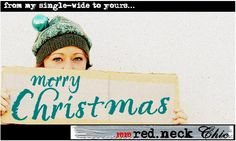 Red Neck Chic is such a fun blog, I always laugh as well as enjoy her creations.
