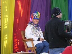. Here he is in his balloon regalia at the annual Albuquerque Balloon Fiesta :)
