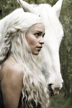Emilia Clarke as Khalessi Daenerys
