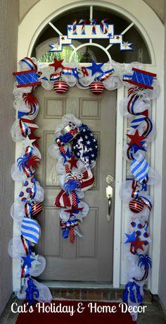 4th of July Door