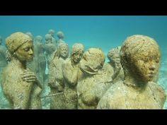 Cancun's underwater museum :D