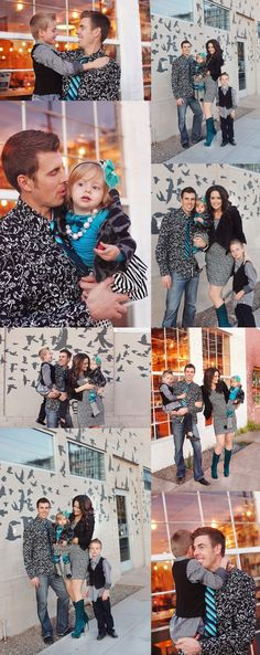 Colorful Urban Family Photography Session