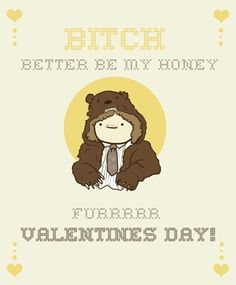 Funny valentines day card lmao