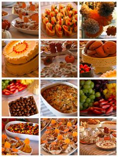 Fall Baby Shower food Ideas