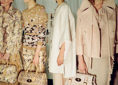 Mulberry, backstage fashion weeks, detail, style, closet, london fashion, blog, spring 2013, mulberri spring, cream