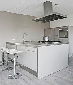 Witte keuken kees marcelis interiors pinterest - Deco witte keuken ...