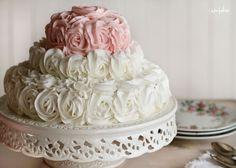 Rose Cake for Audrey's Birthday