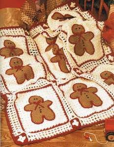 * quilt idea, gingerbread afghan