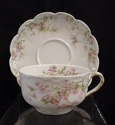 Limoges Haviland cup and saucer set