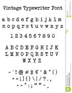 Trendy tattoo fonts typewriter numbers 55 Ideas #tattoo