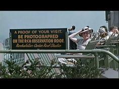 Vídeo en color de Nueva York en 1939