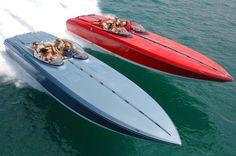 Love Donzi Racing Boats.  Blazing fast just like AccelerationDB.com