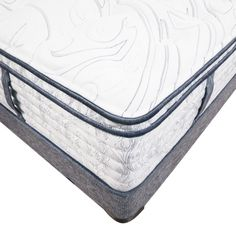 Aireloom Hathaway LuxeTop Plush Innerspring Mattress - This handcrafted Aireloom Hathaway LuxeTop mattress features plush pocketed coil innerspring design and layers upon layers of plush comfort memory foam as part of its unique handmade construction. See the luxury of this handmade design now at Mattress Warehouse online!