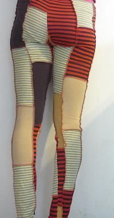 patchwork leggings...ha! I might give these a whirl!