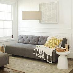 Tillary Tufted Sofa #westelm