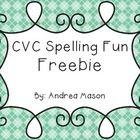 classroom, idea, fun freebi, colors, spell fun, cvc word, kindergarten, cards, black