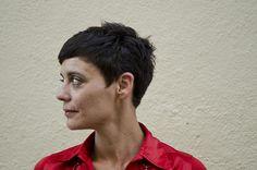 short dark haircut by wip-hairport, via Flickr