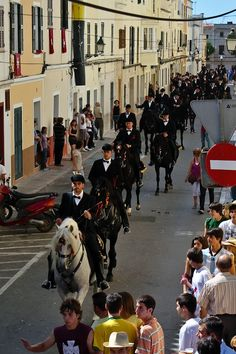 Menorca, Spain - Menorca offers not only the usual island fare (you know..  sun, sea and sand).  It also boasts of enriching cultural events such as the 'Festes de Sant Joan', a traditional fiesta which lasts for three days and involves a sheep, black horses and a little jousting...     pinaytraveller.com