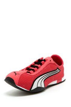 love pink sneakers