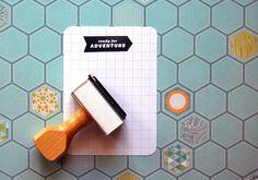 craft, annmari morri, paper, inspir, adventur rubber