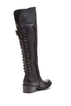 Gesture Studded Tall Boot