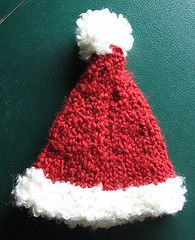 Santa Hat pattern, merri christma, santa hat, yarn