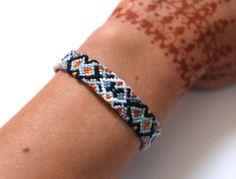 PROWLTIME 'Kaleidoscope' Woven Cotton Friendship Bracelet or Anklet