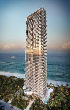 Herzog & de Meuron's Jade Signature residential tower for Miami