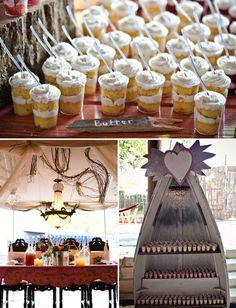 little desserts, desert, blake shelton, wedding cakes, junk gypsi, cano, mini cakes, green weddings, miranda lambert