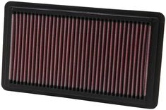 K & N 33-2343 Replacement Air Filter. K & N replacement air filters come with a million mile limited warranty. Their low restriction design helps your car run better as they provide outstanding air filtration. This air filter fits HONDA CIVIC SI models.