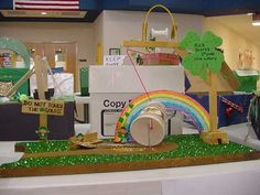 Students make leprechaun traps