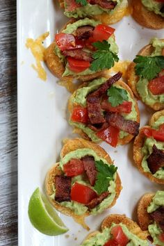 Recipe Girl, Grilled Cheese Guacamole- Bacon Bruschetta via Baking and Cooking, A Tale of Two Loves onto Favorite Recipes