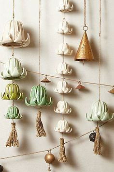 #Tea #Flower #Chime #Anthropologie * Deco Findings * The Inner Interiorista