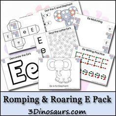 Free Romping & Roaring E Pack -  3Dinosaurs.com