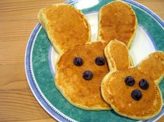 Easter Pancakes.....easy