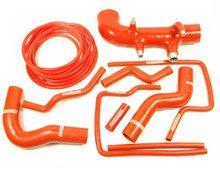 AB88 10 Piece Red Silicone Hose Kit Subaru Impreza 99 - 00
