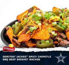 In honor of our hometown team, the Dallas Cowboys, we created the Ultimate Nachos. This recipe will kick your gameday party up a notch with flavor as big as Texas!  Enter our Fire Up for Football Sweeps for a chance to win a trip to the 2014 Pro Bowl in Hawaii http://contests.piqora.com/fritolay #FritoLayGameDay.  Official sweepstakes rules here: http://contests.piqora.com/contests/contest/content/fritolay.com/376/rules fritolay