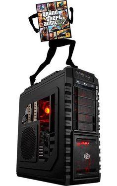 EXCLUSIVA: primera imagen de GTA 5 corriendo en PC.