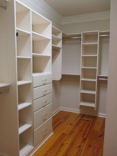 custom closets, closet creation, master bedroom, parad hous, drawer