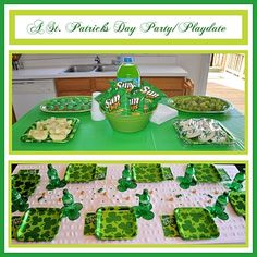 St Patrick Day theme