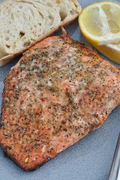 Greek-Seasoned Salmon Recipe