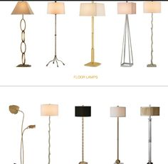 Great floor lamps at