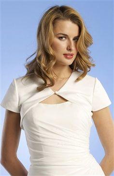 Short Sleeve Satin #Bolero & #Shawls Style Code: 06734 $31