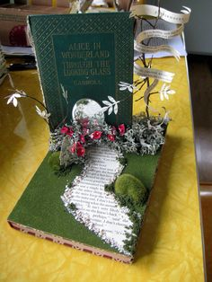 """Working on a display for the Summer Reading theme,"""" Dig into Reading"""" at our local library"""
