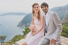 Kristina & Amir - memorably overlooking the Mediterranean
