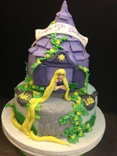 Plumeria Cake Studio: Rapunzel Cake