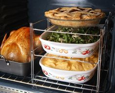 3-Tier Oven Baking Rack    Such a help during the holidays!!